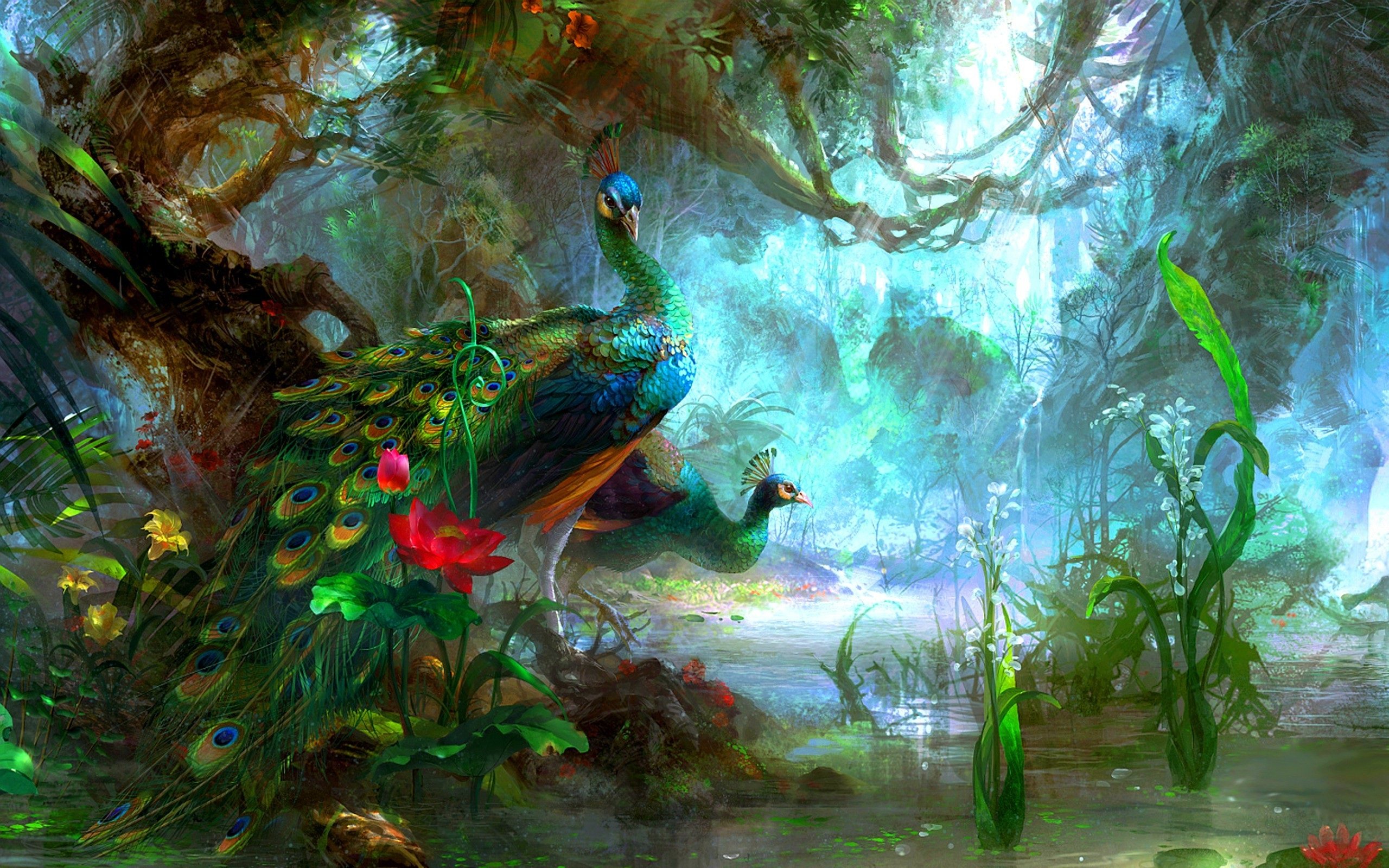 jungle-bird-wallpaper-lovely-wallpaper-forest-birds-fantasy-art-peacocks-jungle-vines-of-jungle-bird-wallpaper.jpg